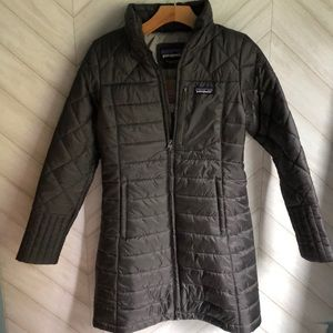 New Patagonia Radalie Parka Coat Grey XS